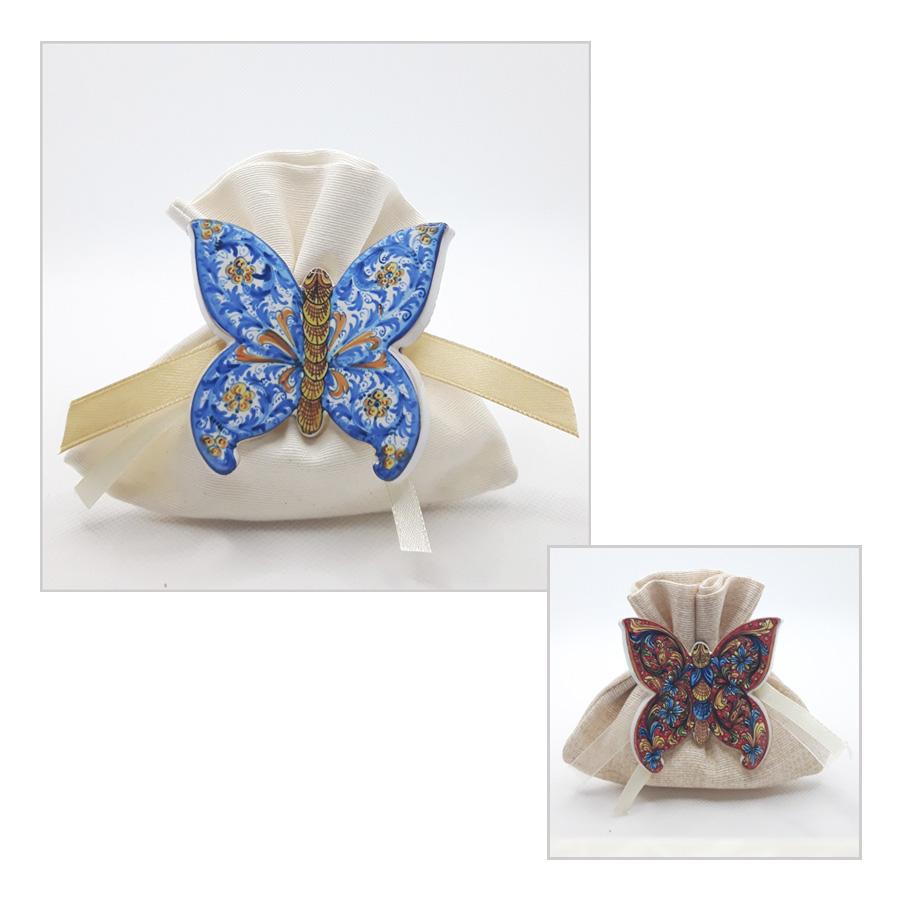 Magnete Farfalla Bomboniera