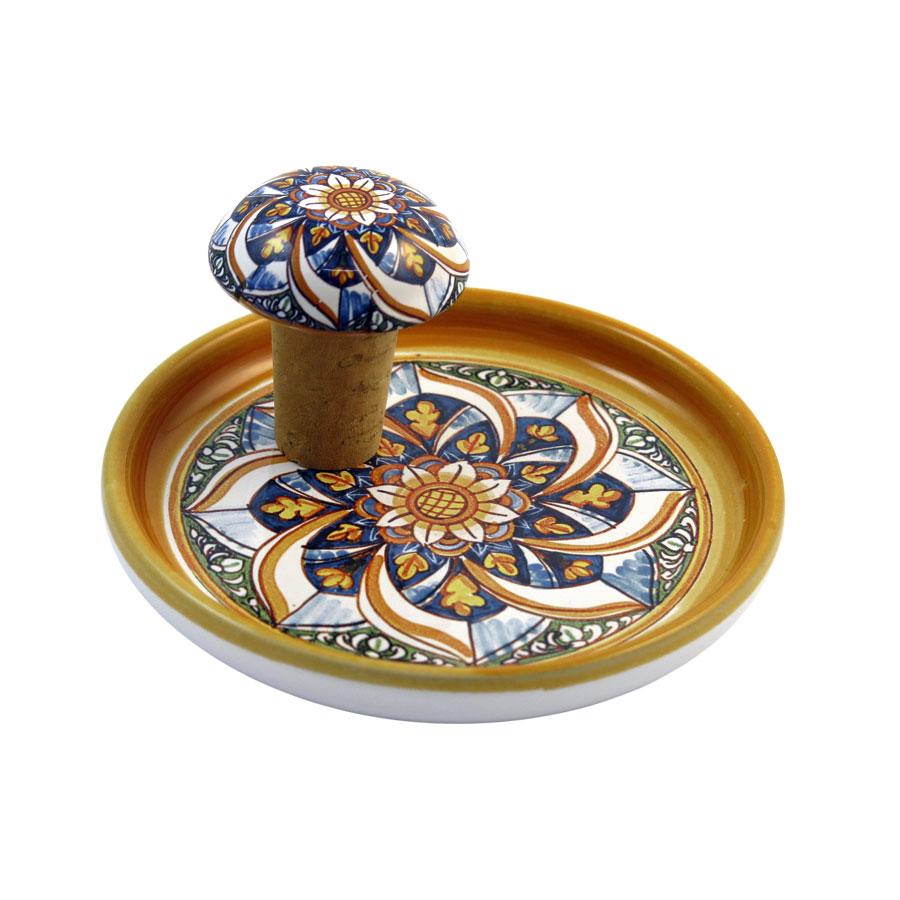 sottobottiglia-tappo-ceramica-bomboniera