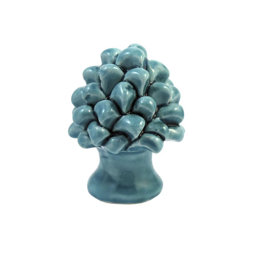 Pigna h 6 cm Verde Acquamarina