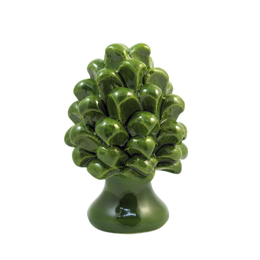 Pigna h 8 cm Verde Acido